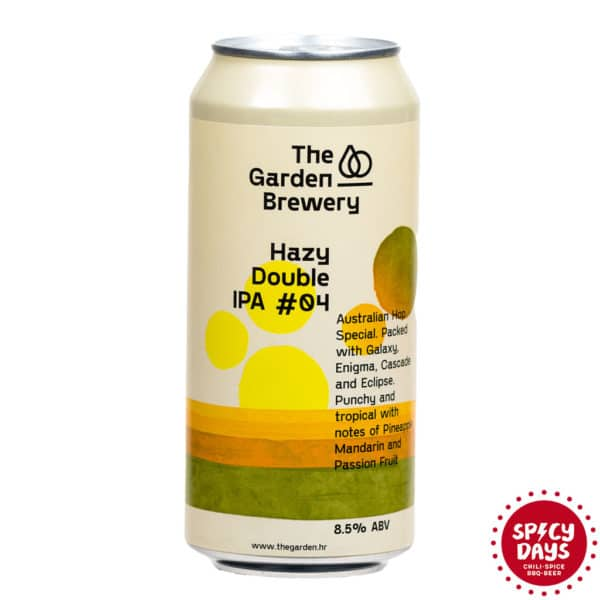 Garden Brewery Hazy Double IPA #04 0,44l 1