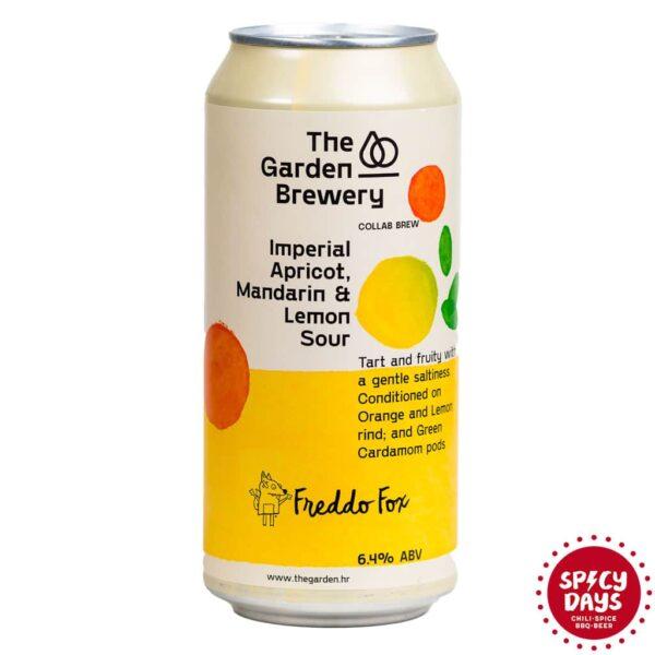 Garden Brewery Imperial Apricot, Mandarin & Lemon Sour 0,44l 1