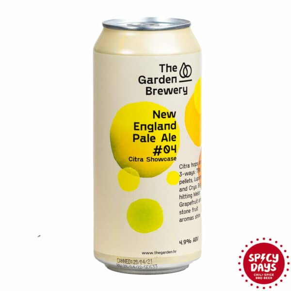Garden Brewery New England Pale Ale #04 Citra 3-ways 0,44l 1