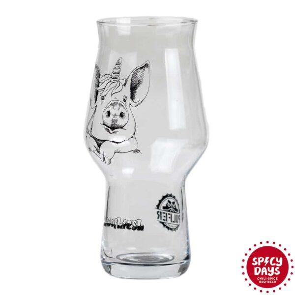 Pulfer Smoothiesh čaša Pig 0,473l
