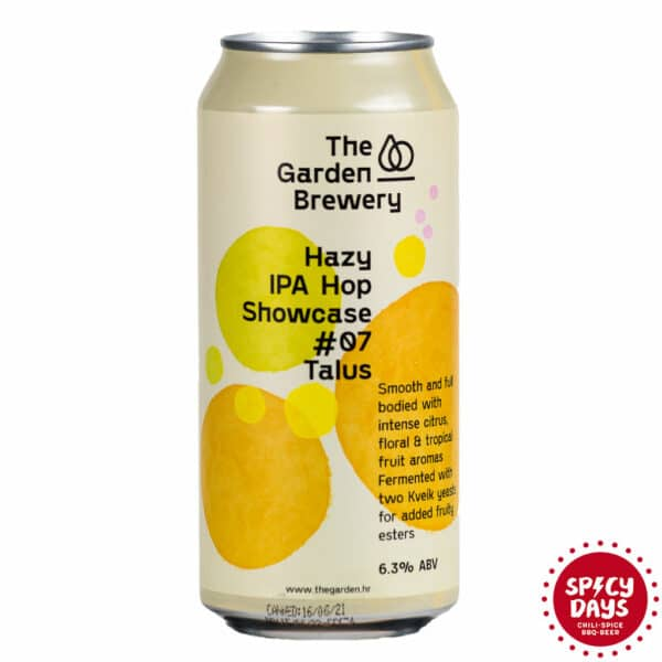 Garden Brewery Hazy IPA Hop Showcase #07: Talus 0,44l