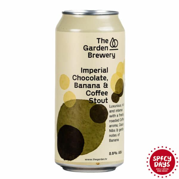 Garden Brewery Imperial Chocolate, Banana & Coffee Stout 0,44l