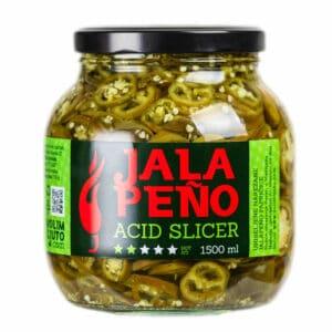 Jalapeno Acid Slicer ukiseljene papričice 1500ml