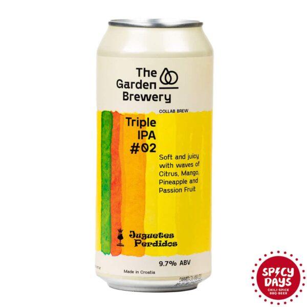 Garden Brewery Triple IPA #02 0,44l