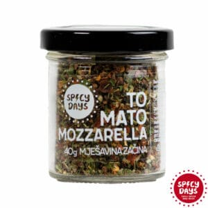 Tomato-Mozzarella mješavina začina 40g